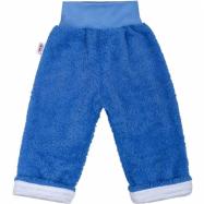Zimné detské tepláčky New Baby Ušáček modré