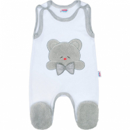 Luxusné dojčenské dupačky New Baby Honey Bear s 3D aplikáciou