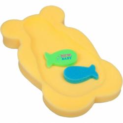 Penová podložka maxi New Baby medveď žltý