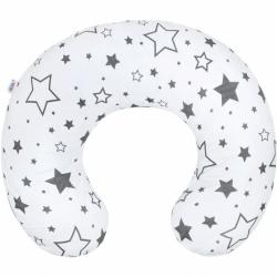 Dojčiaci vankúš New Baby hviezdy šedé