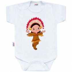 Body s potiskem New Baby Indian Boy