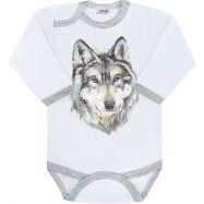 Body s potlačou New Baby Wolf