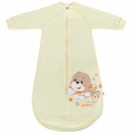 Kojenecký spací pytel New Baby pejsek béžový