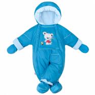 Zimní kombinéza 2v1 New Baby Winter modrá