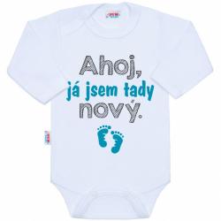 Body s potiskem New Baby Ahoj, já jsem tady nový.