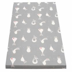 Detská penový matrac New Baby 120x60 šedá - rôzne obrázky