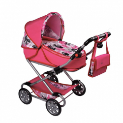 Dětský kočárek pro panenky 2v1 New Baby Veronika
