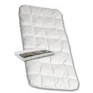 Dětská matrace do kočárku New Baby 75 x 35 molitan-pohanka bílá