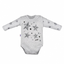 Dojčenské body s bočným zapínaním New Baby Stars