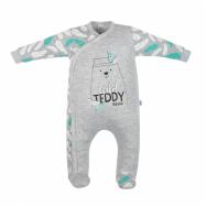 Bawełniany kombinezon dla niemowląt New Baby Wild Teddy