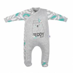 Dojčenský bavlnený overal New Baby Wild Teddy