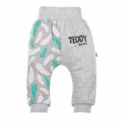 Dojčenské bavlnené tepláčky New Baby Wild Teddy