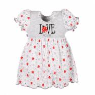 Kojenecké šatičky New Baby LadyBird