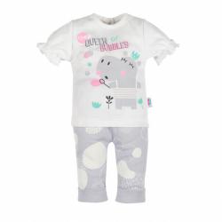 Kojenecké tričko s krátkým rukávem a tepláčky New Baby Queen