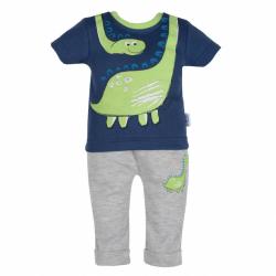 Dojčenské tričko s krátkym rukávom a tepláčky New Baby Dino