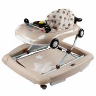 Detské chodítko s hojdačkou a silikónovými kolieskami New Baby Little Racing Car