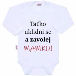 Body s potiskem New Baby a zavolej MAMKU!