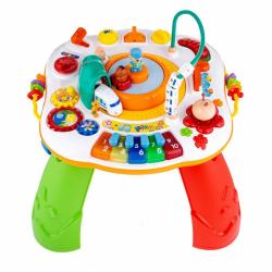 Hovoriace a hrajúci interaktívne stolček New Baby s jazdiacim vláčikom CZ / SK