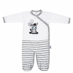 Bawełniany kombinezon dla niemowląt New Baby Zebra wyłącznie