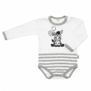 Dojčenské bavlnené body New Baby Zebra exclusive