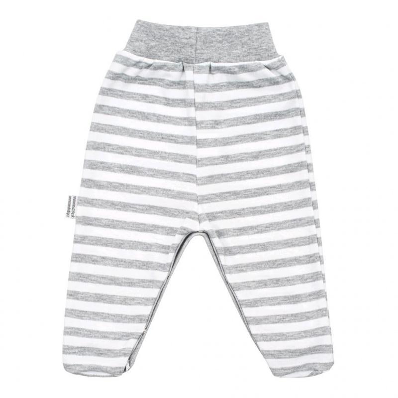 Kojenecké bavlněné polodupačky New Baby Zebra exclusive