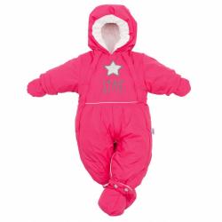 Zimní kombinéza 2v1 New Baby růžová