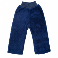 Zimné detské tepláčky New Baby Penguin tmavo modré