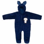 Zimní dětská kombinéza New Baby Penguin tmavě modrá