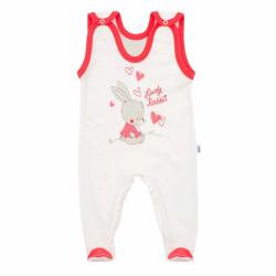 Dětské dupačky New Baby Lovely Rabbit růžové