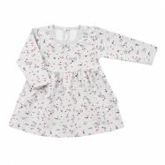 Kojenecké šatičky s dlouhým rukávem New Baby For Girls hvězdičky