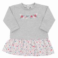Dojčenské šatôčky s dlhým rukávom New Baby For Girls