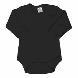 Body dlouhý rukáv New Baby - černé