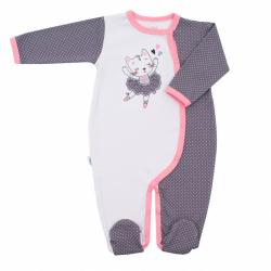 Dojčenský bavlnený overal New Baby Ballerina