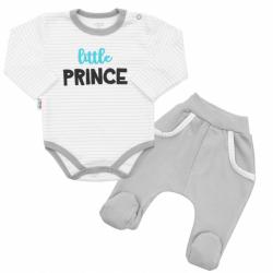 2-dílná bavlněná souprava New Baby Little Prince