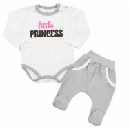 2-dielna bavlnená súprava New Baby Little Princess