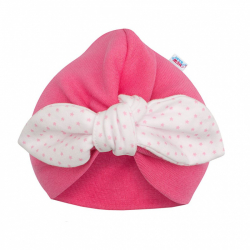 Dievčenské čiapočka turban New Baby For Girls dots