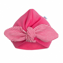 Dievčenské čiapočka turban New Baby For Girls stripes