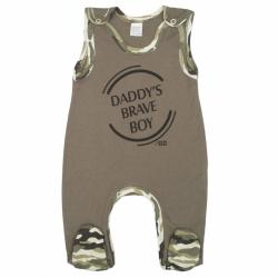 Dojčenské dupačky New Baby Army boy