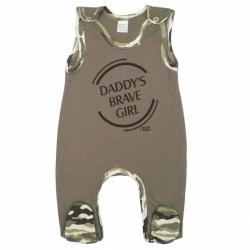 Dojčenské dupačky New Baby Army girl