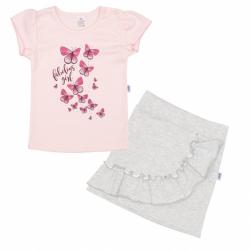 Dojčenské tričko sa sukienkou New Baby Butterflies