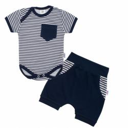 2-dielna letné bavlnená súprava New Baby Perfect Summer modrá