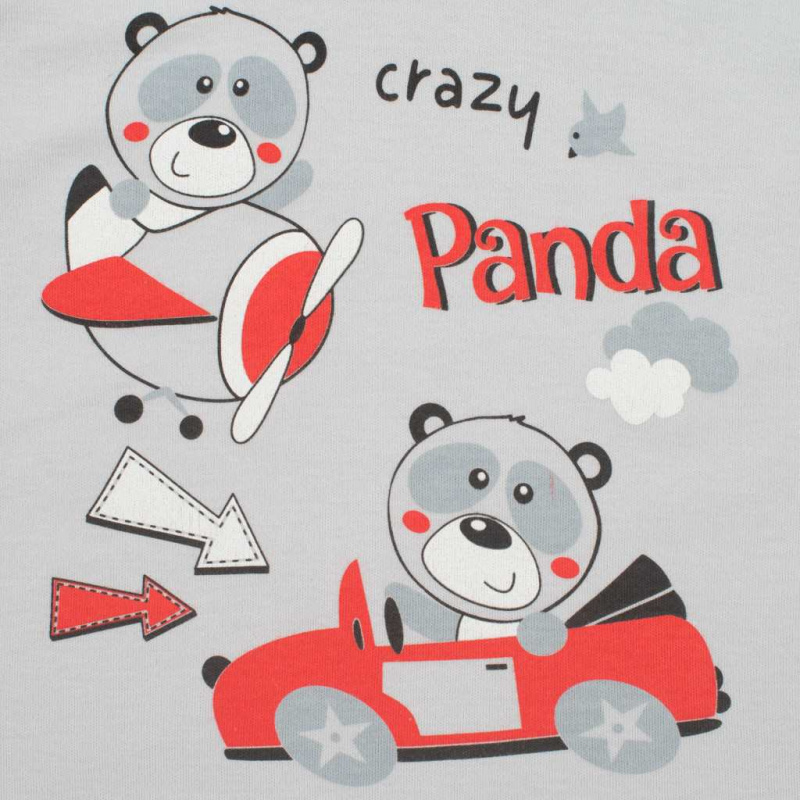 Kojenecké dupačky New Baby Crazy Panda