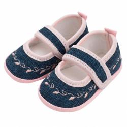 Dojčenské capačky New Baby Jeans ružové 6-12 m