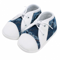 Kojenecké capáčky tenisky New Baby modré 3-6 m