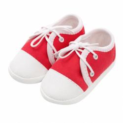 Kojenecké capáčky tenisky New Baby červené 12-18 m