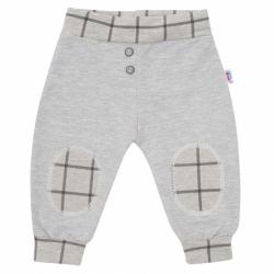 Kojenecké bavlněné tepláčky New Baby Cool šedé