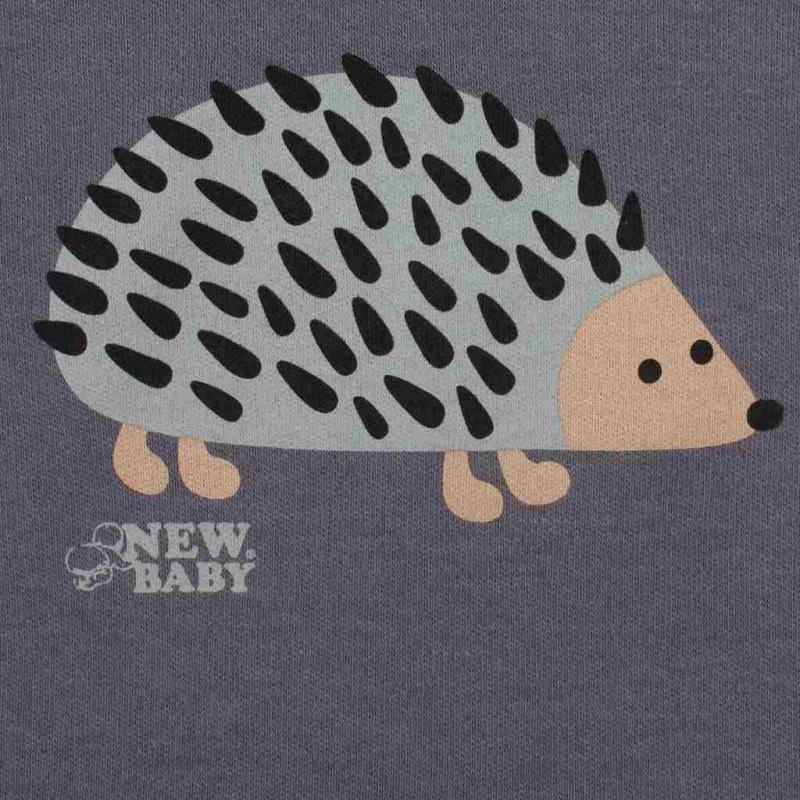 Body niemowlęce z długim rękawem New Baby Hedgehog