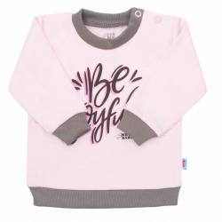 Kojenecké tričko New Baby With Love růžové