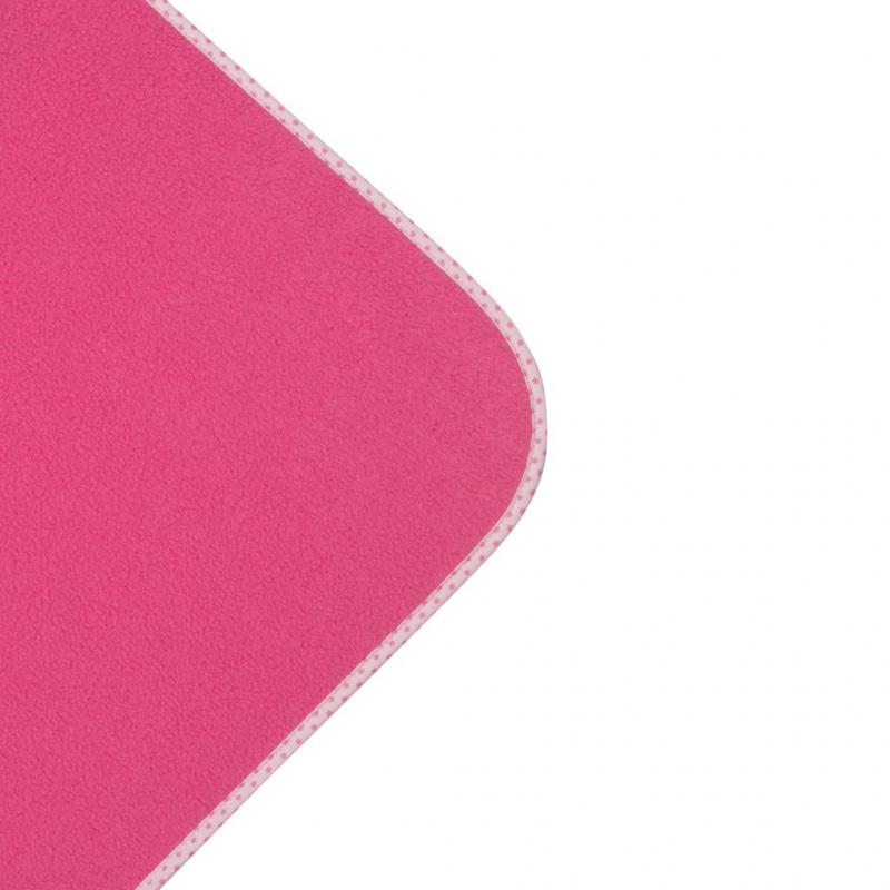 Dětská fleecová deka New Baby 100x75 růžová hvězdičky