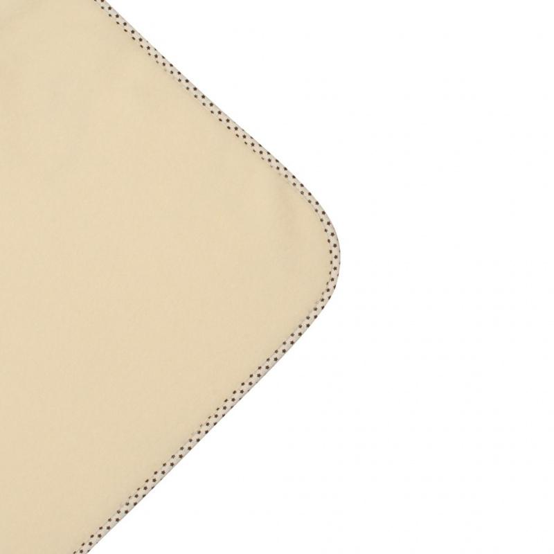 Dětská fleecová deka New Baby 100x75 béžová hvězdičky